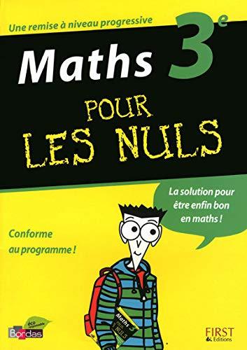 9782754011822: Maths 3e pour les nuls