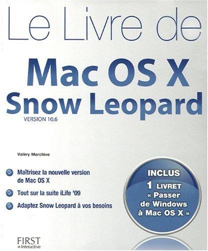 9782754013550: Le livre de Mac OS X Snow Leopard (French Edition)