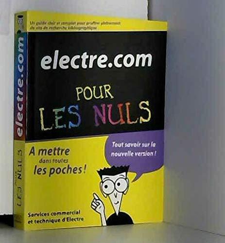 9782754014212: Electre. com pour les nuls