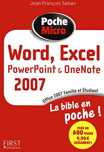 9782754014564: Word, Excel, PowerPoint, OneNote, Office 2007