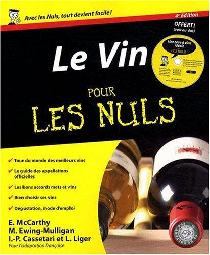 9782754014724: Le Vin pour les nuls (1Cédérom)