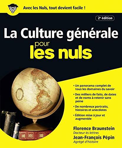 La Culture gà nà rale pour les Nuls (French Edition): Editions Gà nà rales First