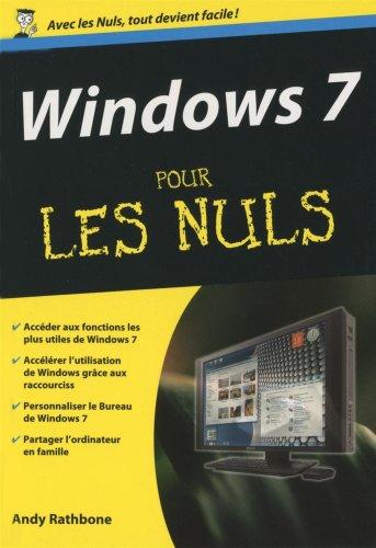 9782754016711: Windows 7 pour les nuls (French Edition)