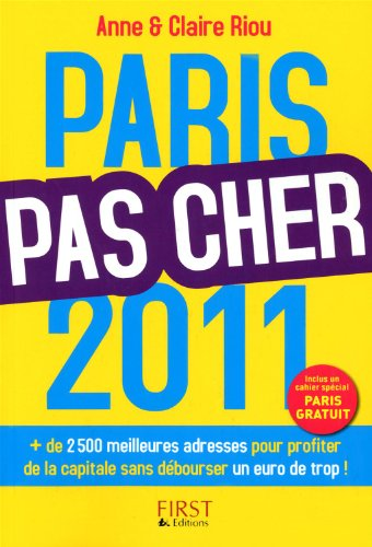 9782754017534: Paris pas cher 2011