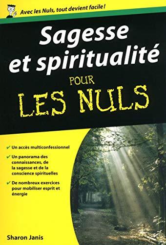 9782754017589: Sagesse et spiritualité pour les Nuls