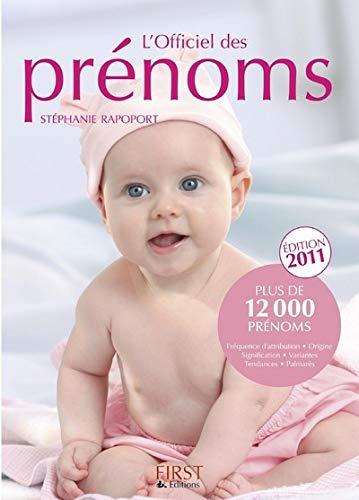 9782754019064: L'Officiel des prénoms (French Edition)