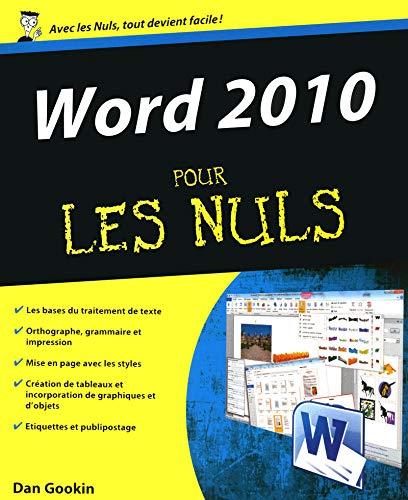 Word 2010: Dan Gookin