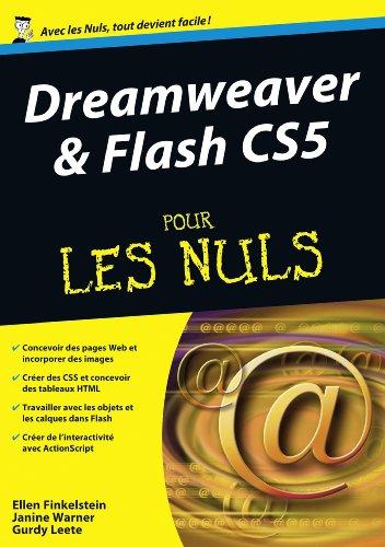 9782754021500: Dreamweaver & Flash CS5 pour les nuls (French Edition)