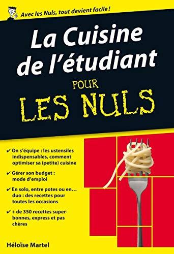 9782754021685: La Cuisine de l'�tudiant Poche pour les Nuls