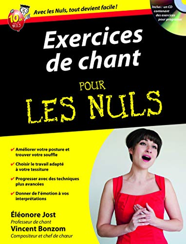 9782754024747: Exercices de chant pour les Nuls