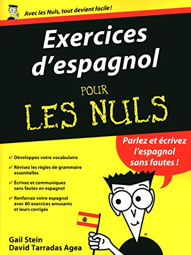 Exercices d'espagnol pour les nuls (French Edition) (2754030921) by Gail Stein