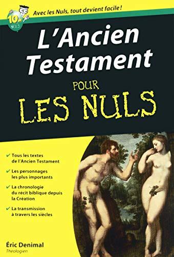 9782754031332: L'Ancien Testament pour les nuls (Mégapoche pour les nuls)