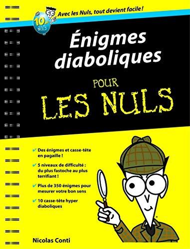 Énigmes diaboliques pour les Nuls: Conti, Nicolas