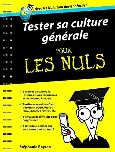Tester sa culture générale pour les Nuls: Boyron, Stéphanie
