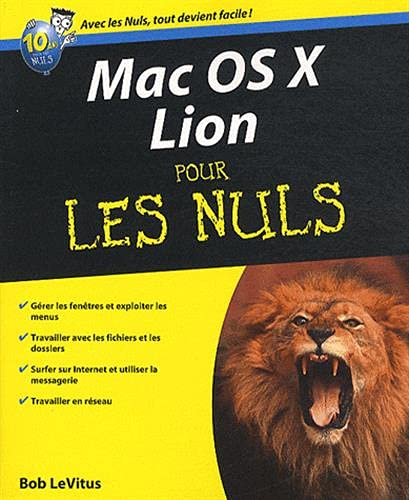 9782754031776: Mac OS X Lion Pour les nuls