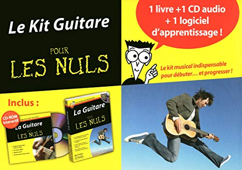 9782754032162: kit guitare pour les nuls