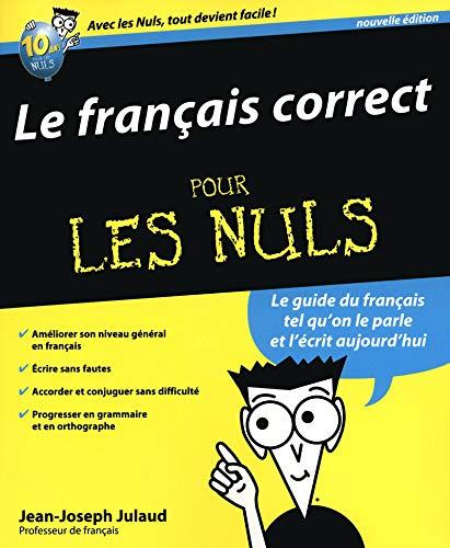 9782754032322: le français correct pour les nuls (2e édition)