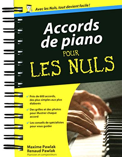 9782754039659: Accords de piano pour les Nuls