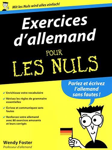 9782754041157: Exercices d'allemand pour les Nuls