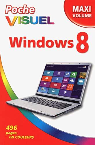 9782754042888: Poche Visuel Windows 8 Maxi volume