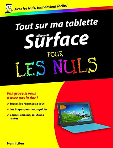 9782754049368: Tout sur ma tablette Microsoft Surface Pour les Nuls