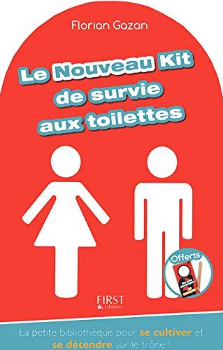 Coffret - Le nouveau kit de survie aux toilettes: Gazan, Florian