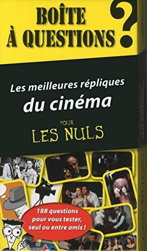 Coffret - Les meilleures répliques du cinéma pour les Nuls: Collectif