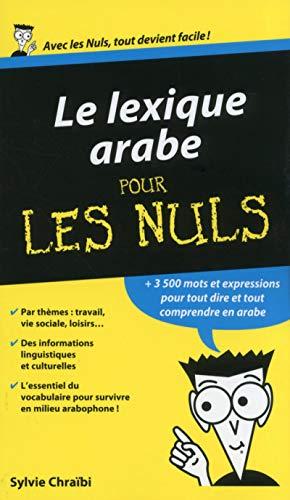 Lexique arabe pour les Nuls: CHRAIBI, Sylvie