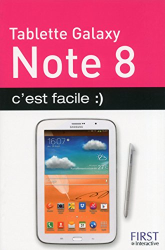 9782754055949: Tablette galaxy note 8 c'est facile