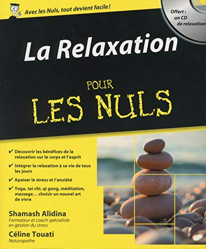 9782754056342: La Relaxation Pour les Nuls + CD