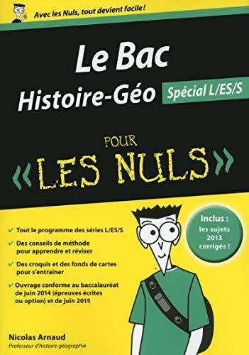 9782754058223: Bac Histoire-G�ographie 2015 pour les Nuls