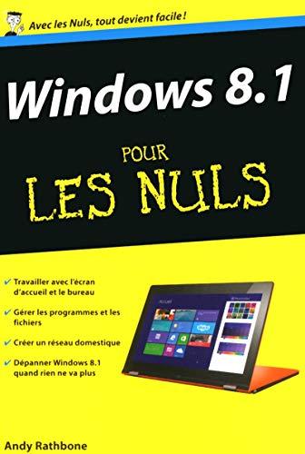 9782754064170: Windows 8.1 poche pour les Nuls