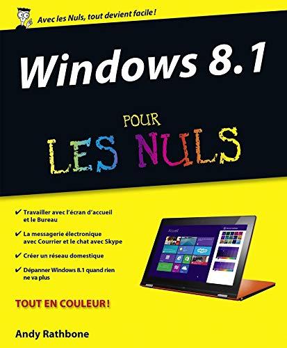 9782754064668: Formation Livre + DVD Windows 8.1 Pour les Nuls