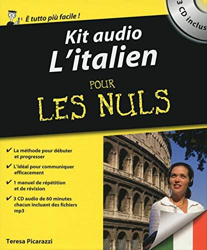9782754067829: Kit audio - L'Italien Pour les nuls