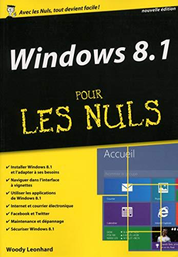windows 8.1 ; mégapoche pour les nuls: Woody Leonhard