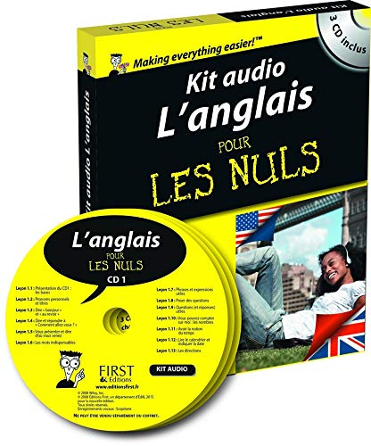9782754071352: Kit audio L'anglais pour les Nuls