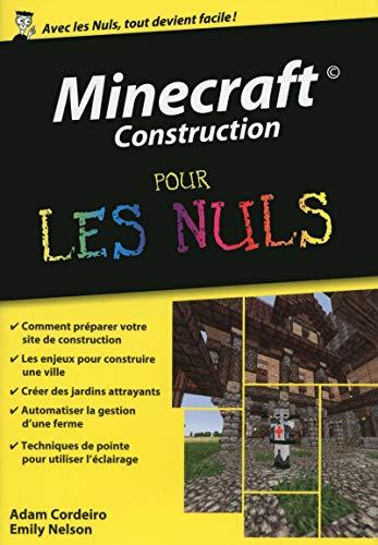9782754072977: Minecraft Construction Poche Pour les Nuls