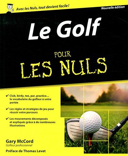 Le golf pour les nuls nouvelle edition