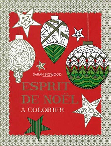 9782754077828: Esprit de Noël à colorier