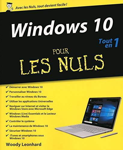 9782754080347: Windows 10 Tout-en-un pour les Nuls