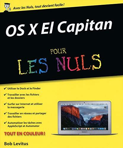 OS X El Capitan pour les Nuls: Levitus, Bob