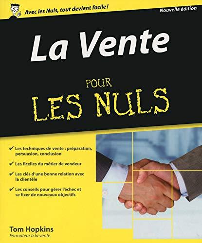 9782754082440: La Vente pour les Nuls, 2e édition