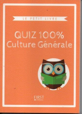 9782754083980: quizz 100% culture générale