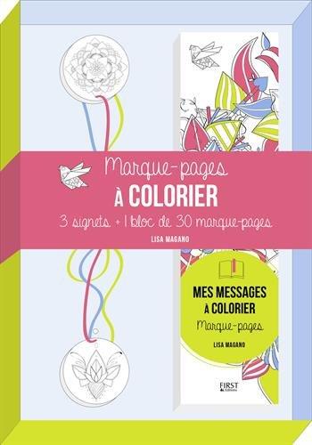9782754087865: Mes marques-pages messages à colorier