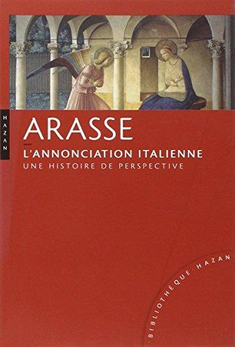 9782754104531: L'Annonciation italienne Nouvelle édition: Une histoire de perspective