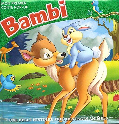9782754209052: Bambi - une belle Histoire avec des pages anim�es