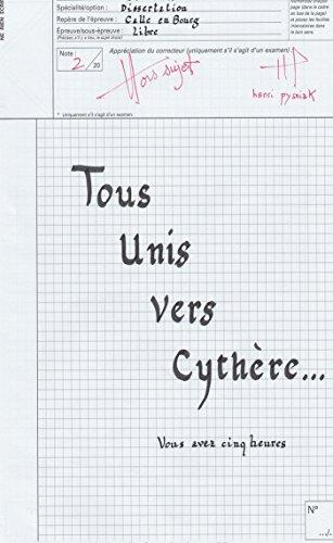 9782754304207: Tous unis vers Cythère
