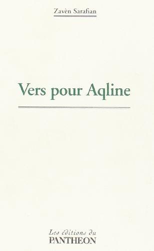 9782754702737: Vers pour Aqline