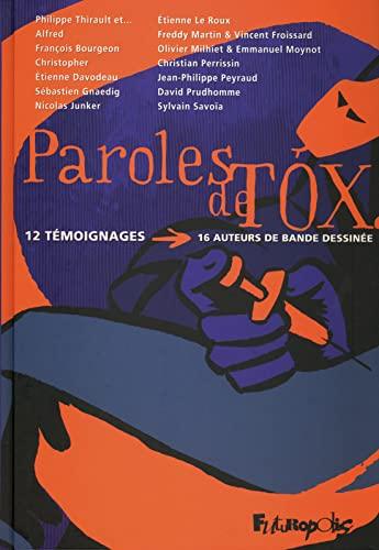 9782754800839: Paroles de Tox (French Edition)