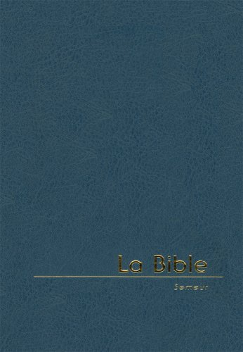 9782755000603: bible semeur miniature, fermeture eclair, marine